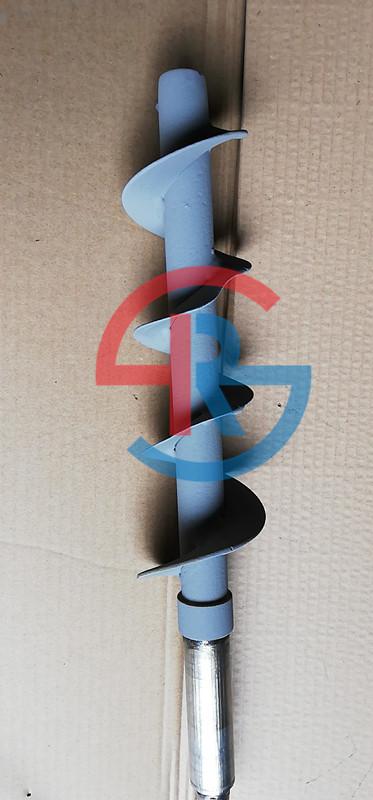 粉碎机进料螺旋轴喷涂耐磨碳化钨