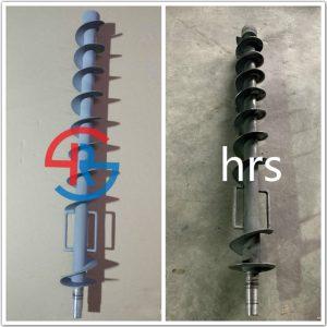 锂电装钵机螺旋轴喷涂碳化钨修复
