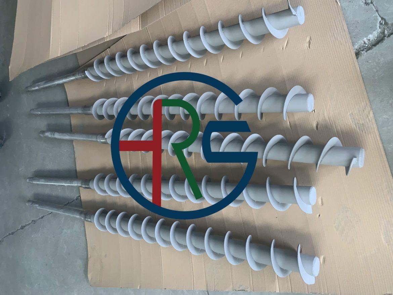 绞龙螺旋轴加工碳化钨喷涂缩略图