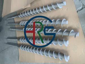绞龙螺旋轴加工碳化钨喷涂插图