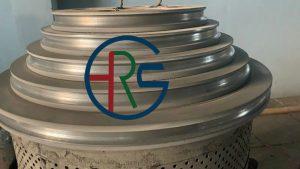 拉丝机塔轮喷涂碳化钨插图