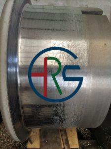 拉丝机卷筒碳化钨喷涂耐磨涂层插图