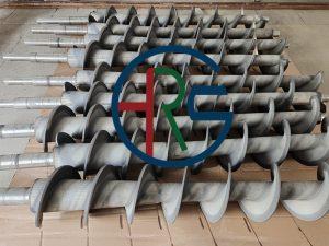 泰州叠螺机螺旋轴喷涂耐磨碳化钨(绞龙喷涂碳化钨)插图