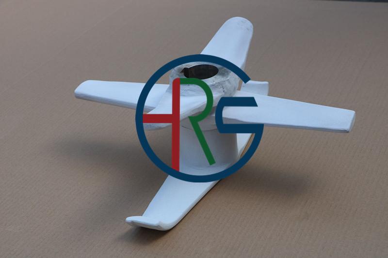 正极材料高速混合机桨叶喷涂陶瓷氧化铝缩略图