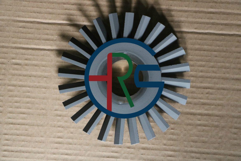 不锈钢风轮喷涂耐磨碳化钨涂层缩略图