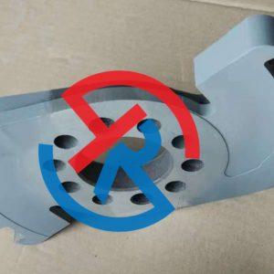 塑料刀片碳化钨喷涂耐磨涂层