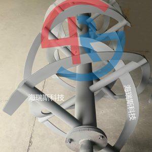 锂电螺带混合机喷涂碳化钨