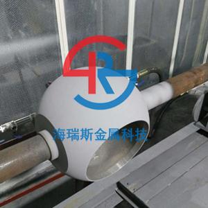 球阀喷涂耐磨碳化钨