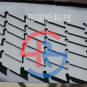 青储机合金刀片喷涂碳化钨耐磨涂层