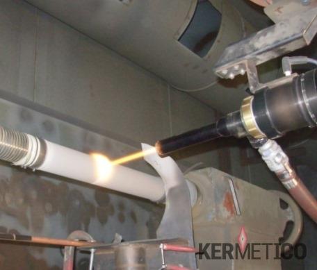 喷涂碳化铬可提高高温下的耐磨性